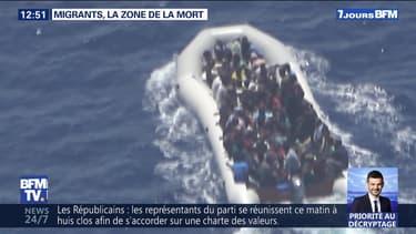 Migrants, la zone de la mort