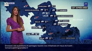 Météo à Lille: une journée nuageuse et pluvieuse, des températures fraîches