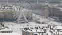 Vue de la place Bellecourt, à Lyon. L'épisode de neige et de froid exceptionnel qui balaye la région depuis mardi a eu une conséquence inattendue: une explosion des accouchements à domicile. Les pompiers ont ainsi recensé 15 naissances à la maison ces der