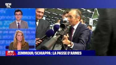 Story 1 : La passe d'armes entre Éric Zemmour et Marlène Schiappa - 20/10