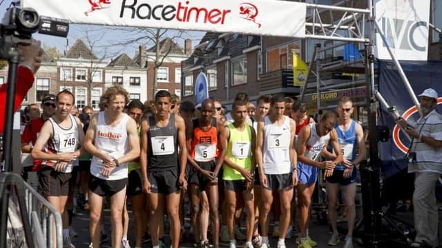 Le monde de la course à pied solidaire de Boston