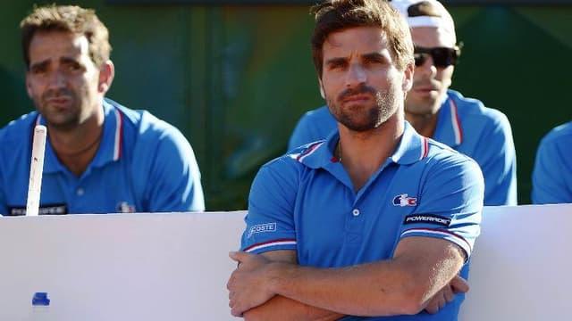 Arnaud Clément, capitaine de l'équipe de France de Coupe Davis