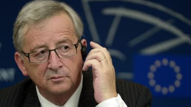 Le président de la nouvelle Commission européenne, Jean-Claude Juncker, le 15 juillet 2014 au Parlement européen.
