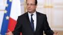 François Hollande, mercredi 10 avril, lors de son allocution au sortir du conseil des ministres.