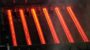 La sidérurgie est responsable de 7% des émissions mondiales de gaz à effet de serre. (image d'illustration)