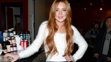 Lindsay Lohan en 2014 à Park City