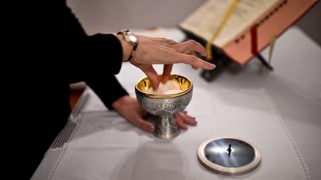 Le Vatican préconise d'utiliser du pain contenant un minimum de gluten pour ne pas dénaturer la panification. (Photo d'illustration)