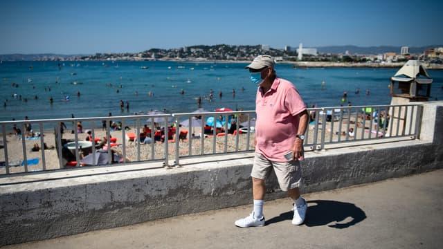 Le port du masque est obligatoire dans la ville de Marseille