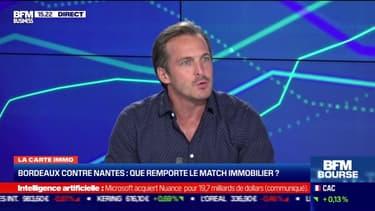 Karl Toussaint du Wast (Le tour de France de l'immobilier) : Bordeaux VS Nantes, le match immobilier - 12/04