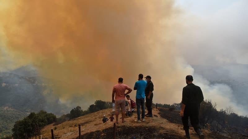 L'Algérie lutte toujours contre les incendies qui ont causé la mort de 71 personnes