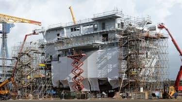 STX construit actuellement une sous-station électrique pour un champ d'éoliennes en mer du Nord.
