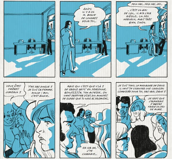 Quand Bowie rencontre Warhol