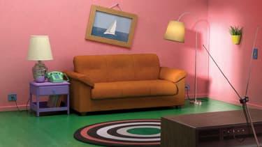 """""""Hou punaise, on dirait mon salon"""", pourrait dire Homer Simpsons devant cette photo."""
