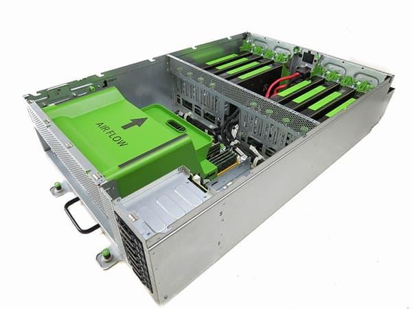 Les serveurs Big Sur créés par Facebook en collaboration avec les ingénieurs de Nvidia.