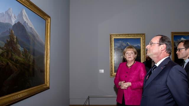 116 euros par habitant côté allemand, 323 euros côté français. Pour ce qui est de l'effort financier de l'Etat et des collectivités territoriales en faveur de la culture, Hollande peut regarder Merkel de haut.