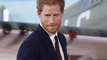 """Le prince Harry à l'avant-première de """"Dunkerque"""", le 13 juillet 2017"""