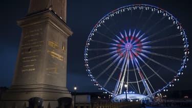 Une association de défense du patrimoine demande à ce que la grande roue soit enlevée place de la Concorde.