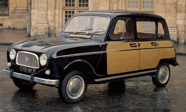 La Renault 4L dans son édition spéciale de 1963, baptisée La Parisienne.