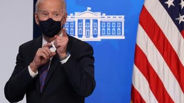 Le président américain Joe Biden à Washington, le 24 mars 2021