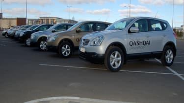 La future génération du SUV compact de Nissan sera produire dans l'usine britannique de Sunderland.