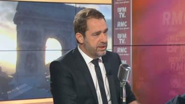 Le ministre de l'Intérieur Christophe Castaner