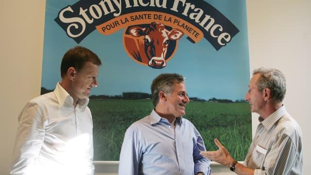 Danone a annoncé lundi la vente à Lactalis de sa filiale américaine Stonyfield.