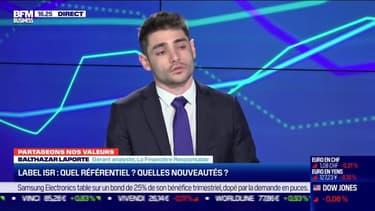 Balthazar Laporte (La Financière Responsable) : Quel référentiel et quelles nouveautés pour le label ISR? - 08/01