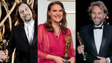 Nicolas Becker, Alice Doyard et Florian Zeller, les trois Français récompensés aux Oscars ce soir