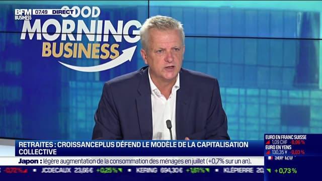 Thibaut Bechetoille, le président de CroissancePlus