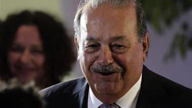 L'homme le plus riche du monde, le magnat mexicain Carlos Slim. Les pays émergents du groupe BRIC - Brésil, Russie, Inde, Chine - ont enregistré l'an dernier une hausse exponentielle du nombre de leurs milliardaires, montre le dernier classement annuel du