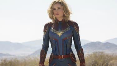 Brie Larson dans la peau de Captain Marvel