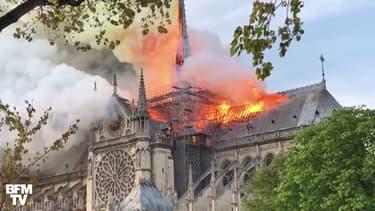 Notre-Dame de Paris ravagée par un incendie