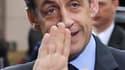 Nicolas Sarkozy se rend ce mardi en Seine-Saint-Denis pour y installer un préfet à poigne après les récentes violences de Tremblay-en France, où des bus ont notamment été attaqués par des bandes. /Photo prise le 26 mars 2010/REUTERS/Eric Vidal