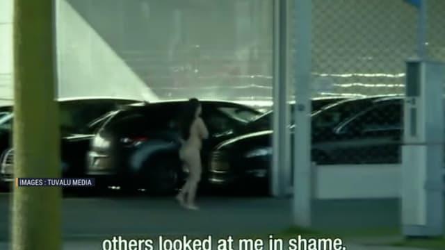 """""""Naked"""", à la télé néérlandaise, un couple est lâché nu à dans une ville qu'il ne connaît pas et doit se retrouver."""