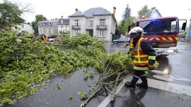 Neuf départements ont été placés en vigilance orange pour vents violents, ainsi que pluie-inondation pour l'Ardèche. (Photo d'illustration)