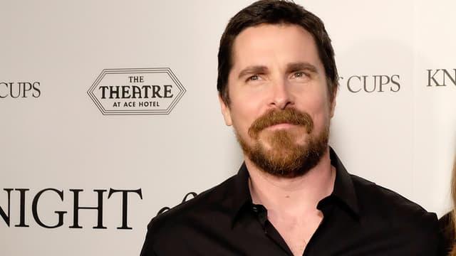 """Christian Bale à la première de son film """"Knight Of Cups"""" à Los Angeles le 1er mars 2016"""