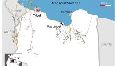 RAID AÉRIEN DE L'OTAN SUR TRIPOLI, EN PLEIN JOUR
