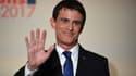 Manuel Valls, le 29 janvier 2017, à Paris.