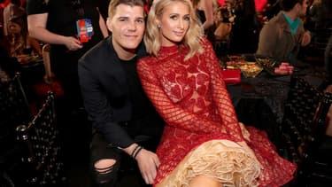 Paris Hilton et Chris Zylka en mars 2018