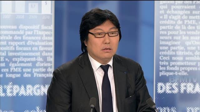 Jean-Vincent Placé sur BFMTV, le 9 novembre
