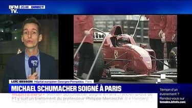 L'ancien pilote de F1 Michael Schumacher est soigné à l'hôpital Georges-Pompidou à Paris