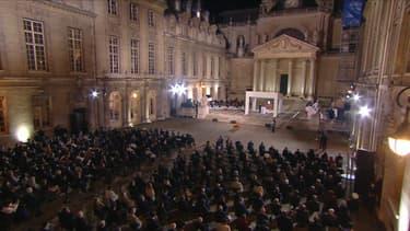 La cérémonie en hommage à Samuel Paty s'est tenu mercredi soir à la Sorbonne