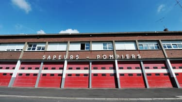 Photo de la caserne des sapeurs-pompiers d'Abbeville, le 8 août 2010 (Photo d'illustration)