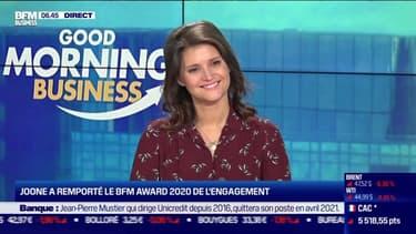 Carole Juge-Llewellyn (Joone): Joone remporte le BFM Award 2020 de l'engagement - 01/12