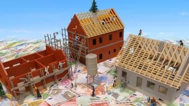 Les taux de crédits immobiliers restent bas sur le long terme