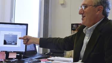 Xavier Passot, responsable du Geipan, pointe un phénomène aérospatial non identifié.