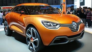 Le Capture, nouvel modèle de crossover de Renault, est produit en Espagne.