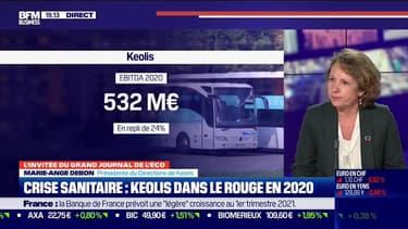 Marie-Ange Debon (Keolis) : Crise sanitaire, Keolis dans le rouge en 2020 - 09/03