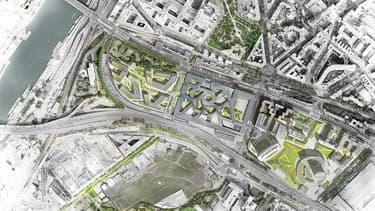 L'ouverture du nouveau ministère sur le site de Balard (plan) doit intervenir fin 2014
