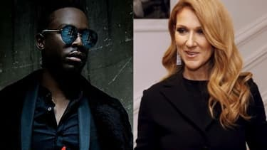 Dadju et Céline Dion